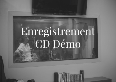 Enregistrement CD démo