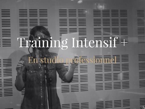 Training Intensif Plus en Studio Professionnel Publicité et Documentaire
